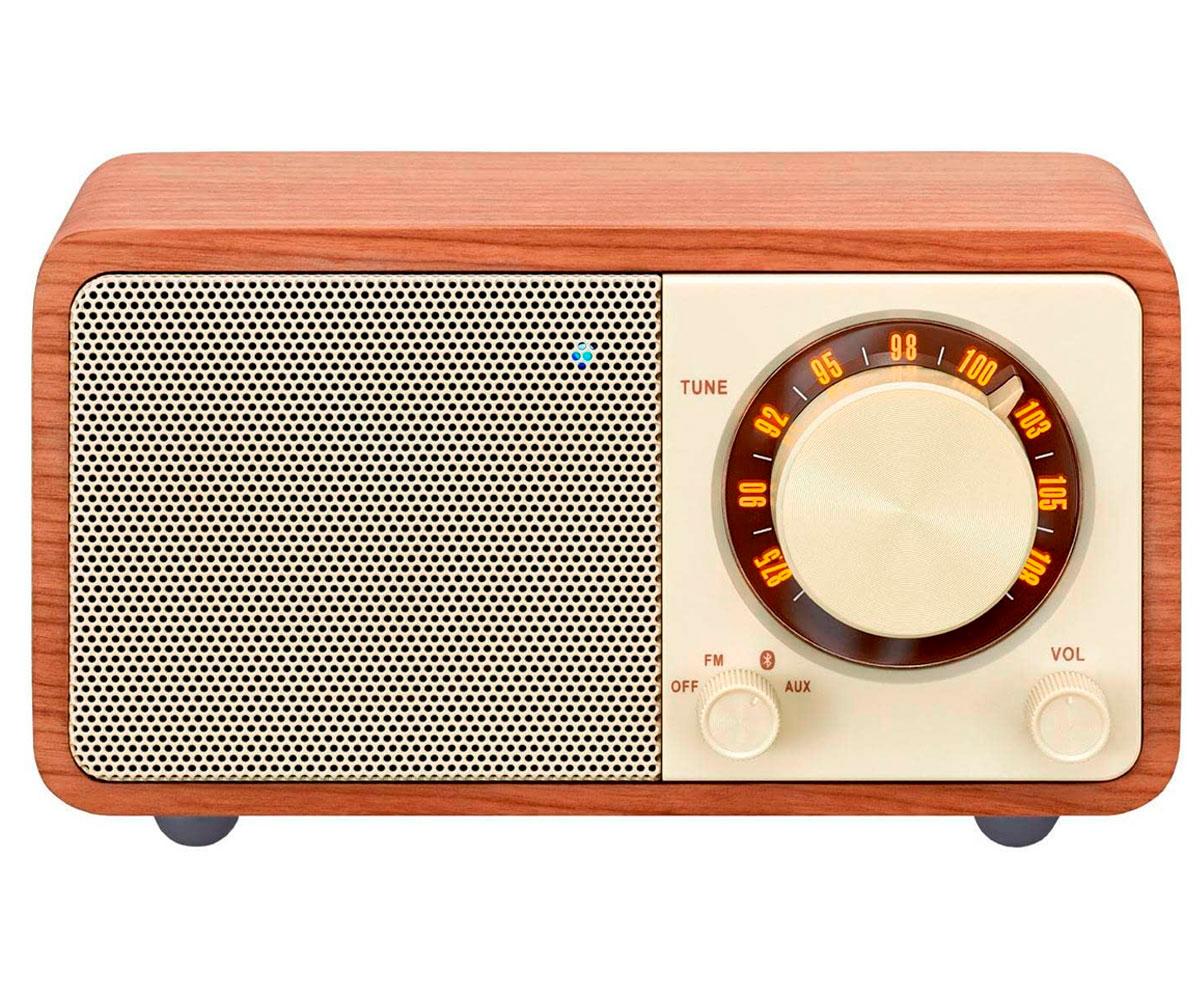 SANGEAN WR-7 NUEZ RADIO ANALÓGICA SOBREMESA FM BLUETOOTH BATERÍA LI-ION RECARGAB