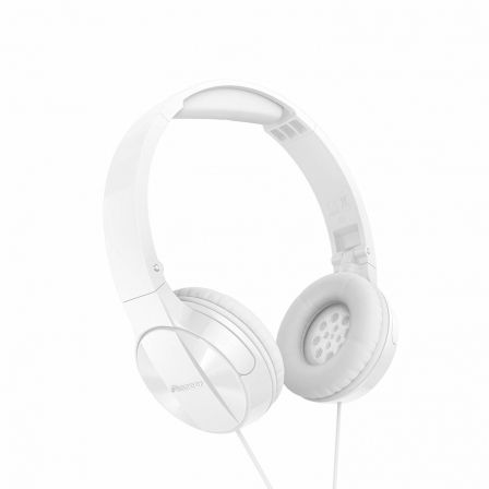AURICULARES PIONEER PURE SOUND SE-MJ503-W BLANCOS - DRIVERS 30MM - 10-24000HZ -