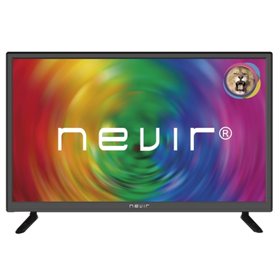 Nevir 7707 TV 24 LED HD USB VGA HDMI Negra
