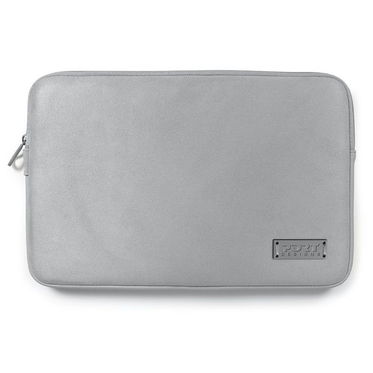 FUNDA PORTATIL PORT MILANO MACBOOK 11 PLATA