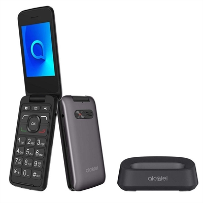Alcatel 3026X Telefono Movil 2.8 QVGA BT Gris