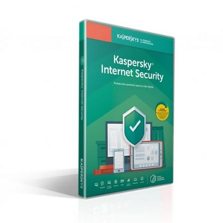 ANTIVIRUS KASPERSKY INTERNET SECURITY 2020 - 1 DISPOSITIVO - 1 AÑO - NO CD - ATT