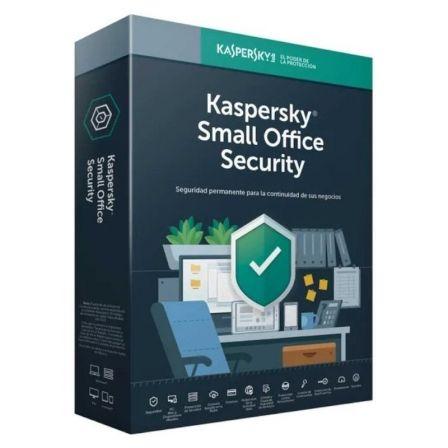 ANTIVIRUS KASPERSKY SMALL OFFICE SECURITY 7 - 10 DISPOSITIVOS / 1 SERVIDOR - 1 A