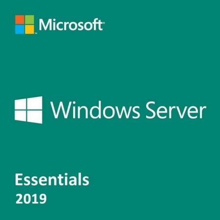 LICENCIA MICROSOFT WINDOWS SERVER 2019 ESSENTIALS - OEM - 1 SERVIDOR (1-2 PROCES