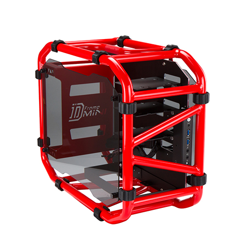 Caja Mini-ITX In Win D-Frame Mini Roja