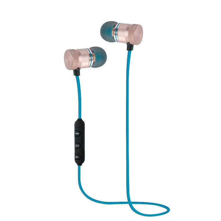 Auriculares Bluetooth Woxter Airbeat BT-7 Azul