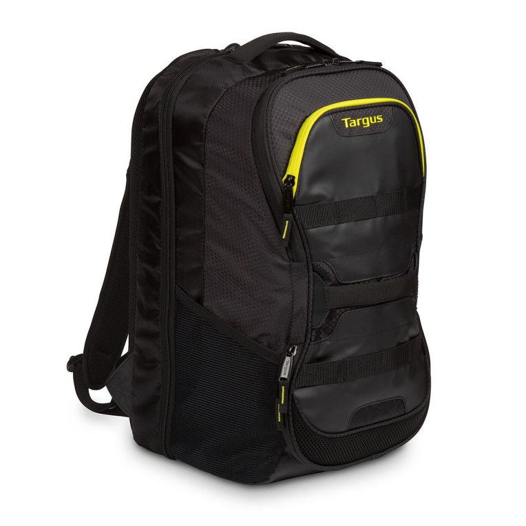 MOCHILA TARGUS WORK+PLAY FITNESS 15´6 NEGRO/AMARILLO