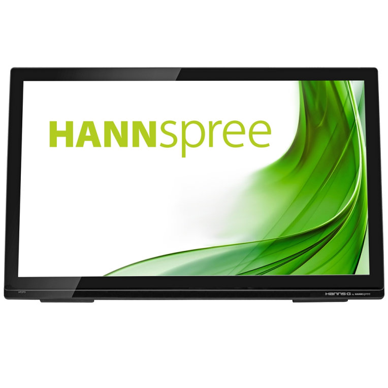 MONITOR HANNS HT273HPB 27 IPS 1920x1080 8MS USB HDMI ALTAVOCES TACTIL NEGRO