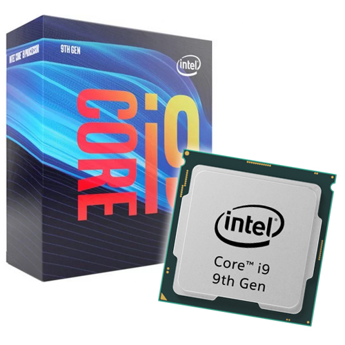 Intel Core i9-9900 3.10GHz. Socket 1151