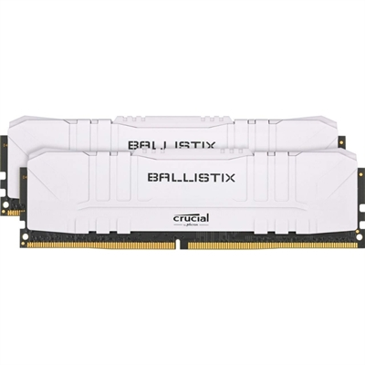 Crucial Ballistix 2x8GB (16GB KIT) DDR4 3200 MT/s Blanco