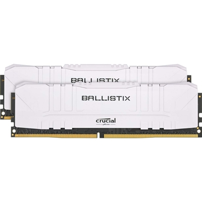 Crucial Ballistix 2x16G (32GB KIT) DDR4 2666MT/s Blanco