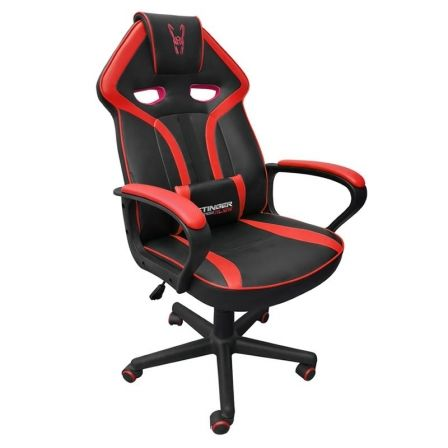 SILLA GAMER WOXTER STINGER STATION ALÍEN RED V2.0 - PISTON CLASE 4 - EJE DE ACER