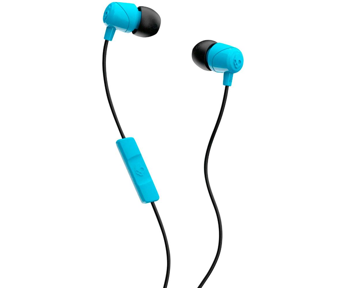 Auriculares con Micrófono SkullCandy JIB Blue Black