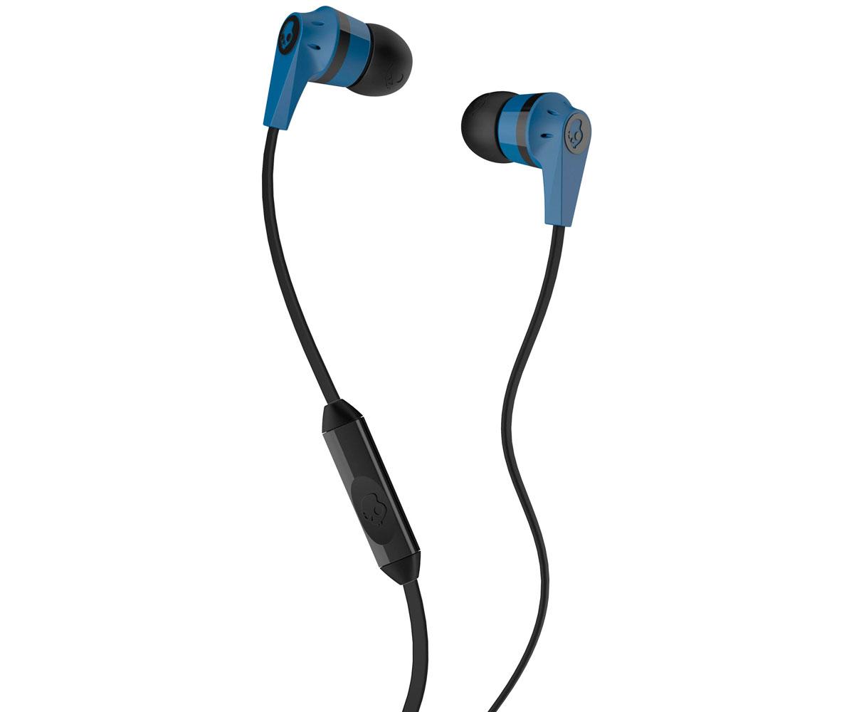 Auriculares con Micrófono SkullCandy INKD 2 Blue Black