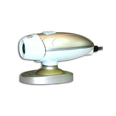 Webcam Satycon Ovni con Micrófono Incorporado 1.3MPX Blanco