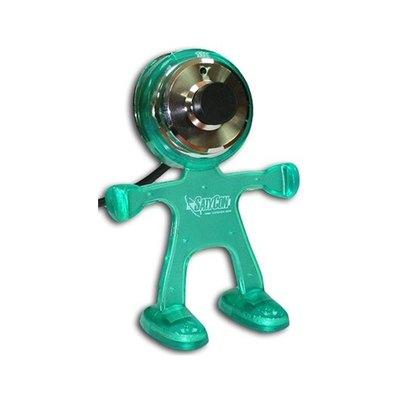 Webcam Satycon Marciano con Micrófono Incorporado 1.3MPX Verde