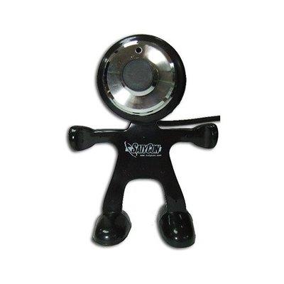Webcam Satycon Marciano con Micrófono Incorporado 1.3MPX Negro