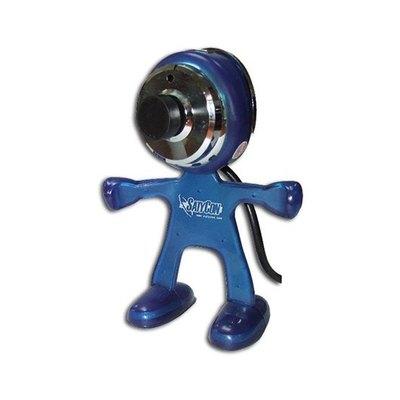 Webcam Satycon Marciano con Micrófono Incorporado 1.3MPX Azul