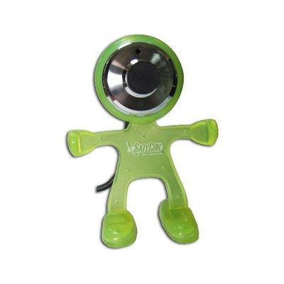 Webcam Satycon Marciano con Micrófono Incorporado 1.3MPX Amarillo