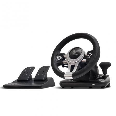 VOLANTE DE CARRERAS CON PEDALES SPIRIT OF GAMER RACE PRO WHEEL 2 - MOTOR DOBLE V