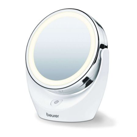 ESPEJO DE MAQUILLAJE CON LUZ BEURER BS-49 - Ø11CM - 2 SUPERFICIES (NORMAL/5 AUME