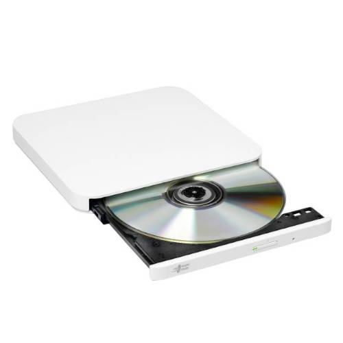 GRABADORA DVD EXTERNA LG GP90NW70 Blanca