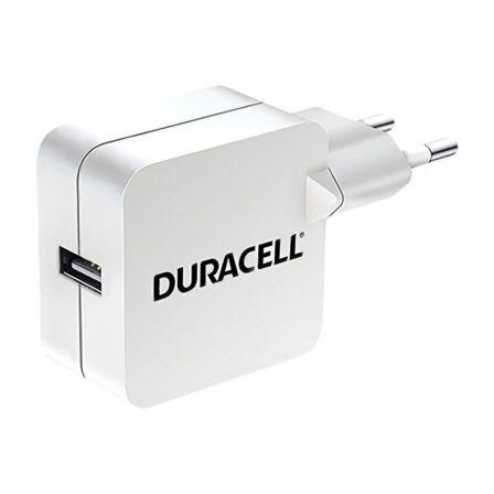 CARGADOR DE PARED DURACELL DRACUSB2W-EU - 1XUSB - 5V - 2.4A