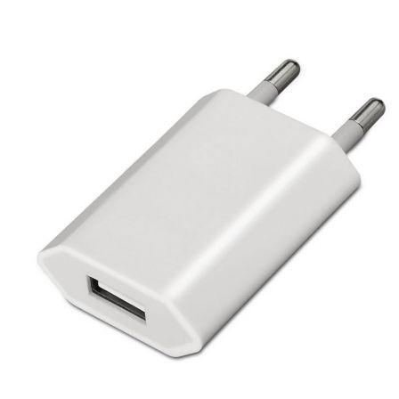 CARGADOR DE PARED AISENS A110-0063 - USB 5V/1A - BLANCO