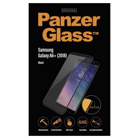 PROTECTOR DE PANTALLA PANZERGLASS 7150 PARA SAMSUNG GALAXY A6+ (2018) NEGRO - CR