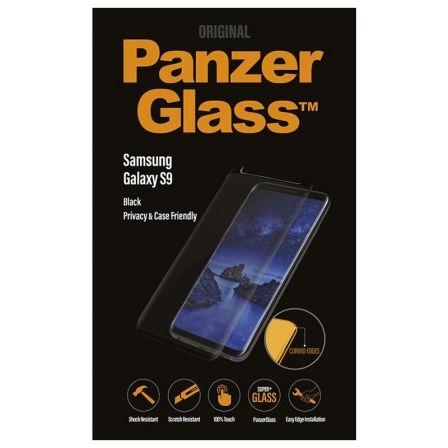 PROTECTOR DE PANTALLA PANZERGLASS P7142 PARA SAMSUNG GALAXY S9 NEGRO - CRISTAL T