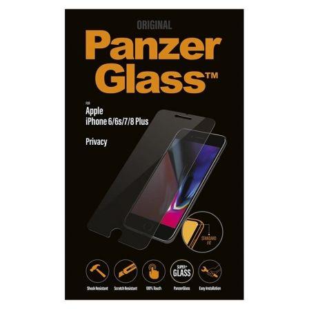 PROTECTOR DE PANTALLA PANZERGLASS P2629 PARA IPHONE 6/6S/7/8 PLUS - CRISTAL TEMP