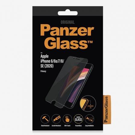 PROTECTOR DE PANTALLA PANZERGLASS P2684 PARA IPHONE 6/6S/7/8/SE (2020) - CRISTAL