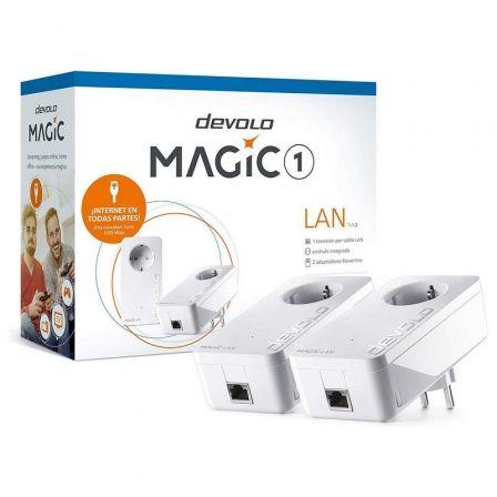 PLC/POWERLINE DEVOLO MAGIC 1 1-1-2 8301 - 2 UNIDADES - 1200MBPS (PLC)/300MBPS (E
