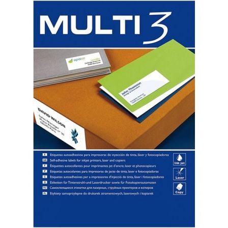 ETIQUETAS ADHESIVAS APLI 4719 MULTI3 - PARA INKJET/LASER/FOTOCOPIADORA - ETIQUET
