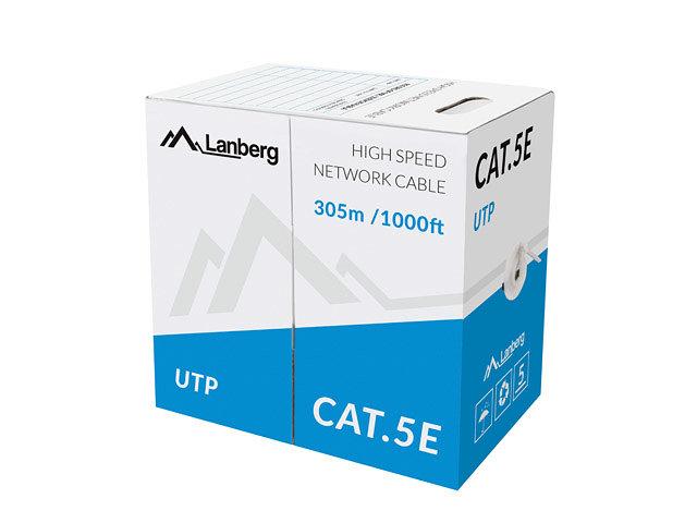 Cable de red Lanberg LCU5-10CC-0305-S Solid (cat. 5E Utp