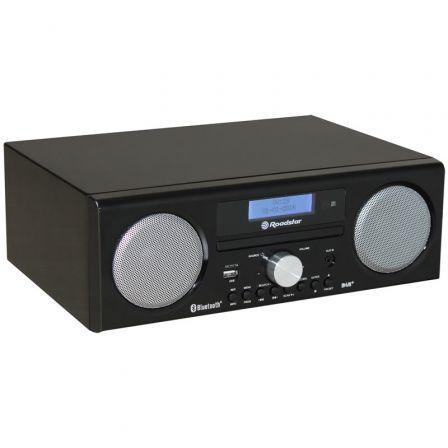 Minicadena Roadstar HRA-9D/ 240W/ Bluetooth/ Negra