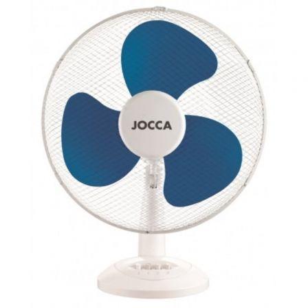 Ventilador de Sobremesa Jocca 1468 / 45W / 3 Aspas 30cm / 3 velocidades