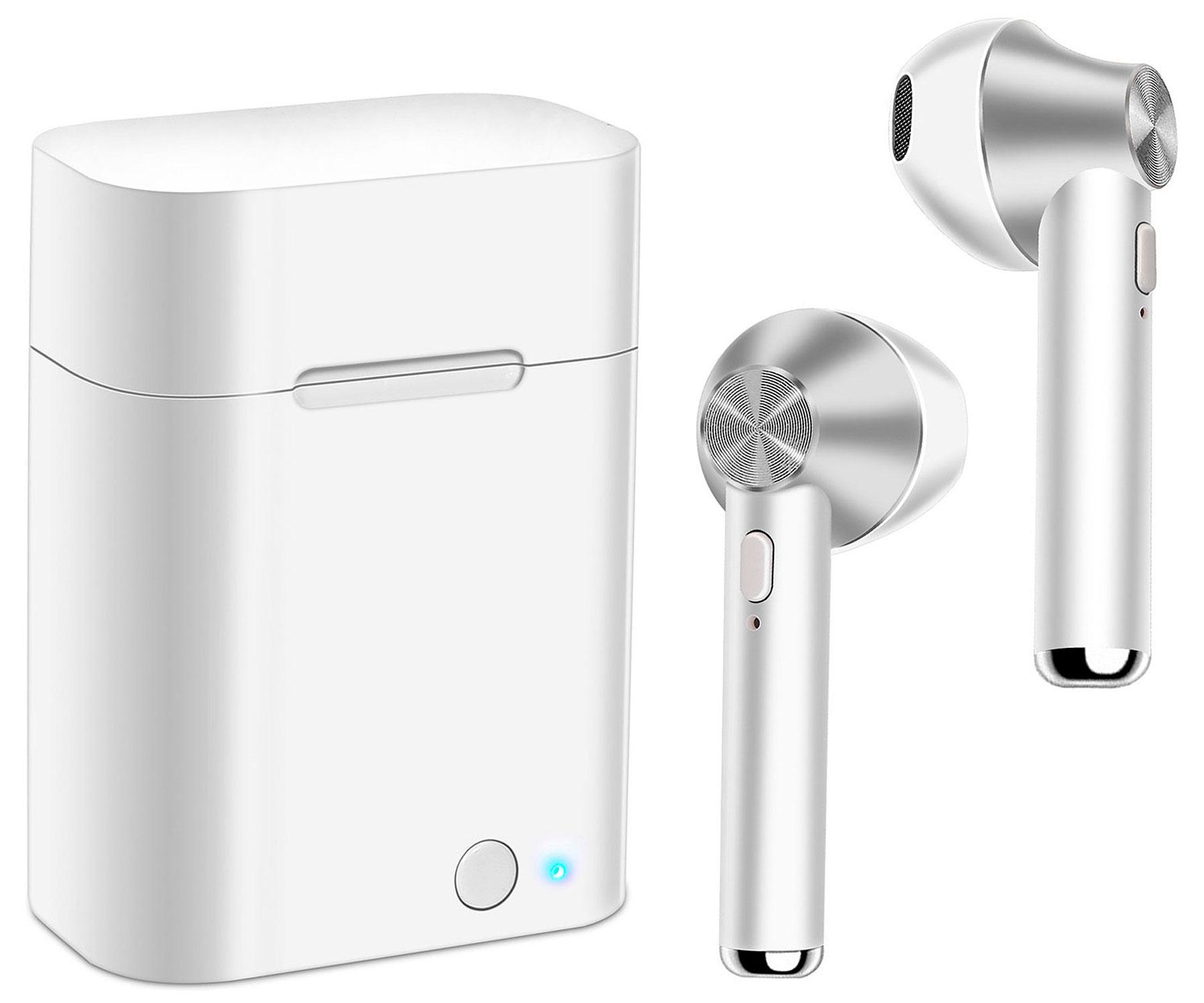 Auriculares Akashi Earbuds Bluetooth Blancos