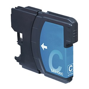 LC980C - LC985C - LC1100C XL (Cian) Cartucho de Tinta Compatible
