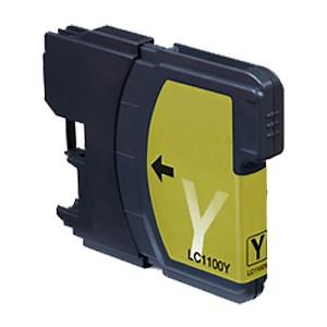 LC61- LC980Y - LC1100Y (Amarillo) Cartucho de Tinta Compatible