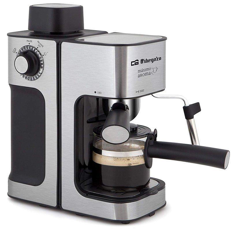 Cafetera Orbegozo EXP 5000 - 800W - 3.5 BAR