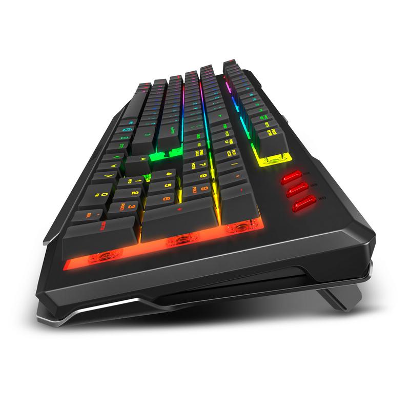 Ozone OZDOUBLETAPSP teclado USB Español Negro