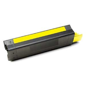 Oki C5650 Compatible Yellow Toner