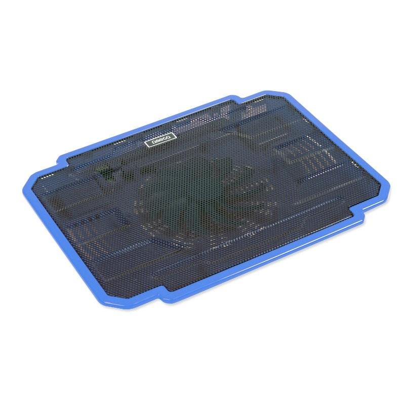 Soporte para Portátil con Ventilación Omega Ice Box Blue 10