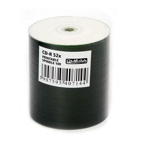 CD-R InkJet Printable Full Face Blanco FreeStyle Bobina 100 uds