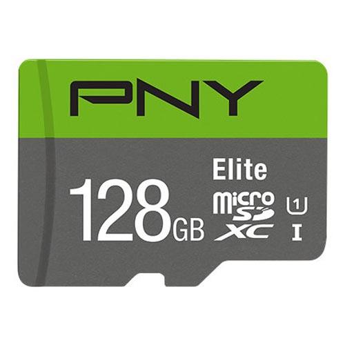 Tarjeta MicroSDXC 128GB Clase 10 UHS-I PNY Elite