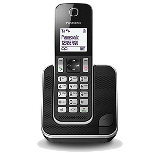 Telefono Inalambrico Panasonic KX-TGD310SPB Negro