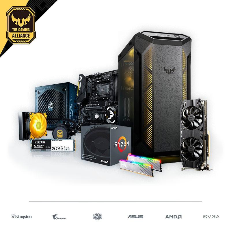 PC GAMING TUF Ryzen 7 2700 16GB 480GB GeForce RTX 2060