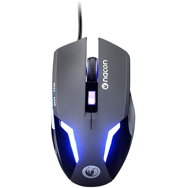 Ratón Nacon GM-105 Negro