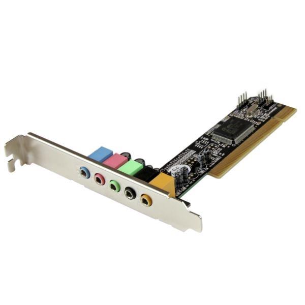 Tarjeta de Sonido PCI con 5.1  Canales Surround  Envolvente